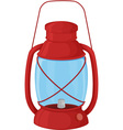 Camp lantern vector image