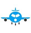 Cargo Aircraft Flat Icon vector image vector image