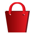 empty present bag vector image