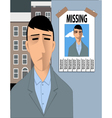 Feeling lost vector image