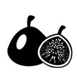 fig icon simple of fig icon vector image