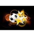 football stars vector image