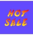 Hot sale fiery vector image
