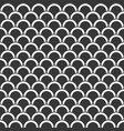 seamless pattern scale or wave background vector image vector image