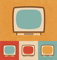 Small Television Icon vector image vector image