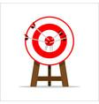 target goal vector image vector image