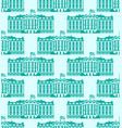 white house america seamless pattern us president vector image vector image