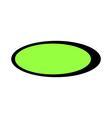 A tennis ball vector image vector image