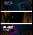 black abstract background with squares vector image