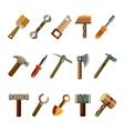Building Instrument Icons Set vector image vector image