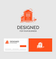 business logo template for home house apartment vector image