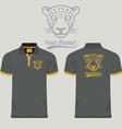 Collared Shirt Design Template