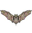 ethnic bat vector image vector image