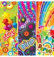 party banners vector image vector image