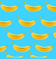 pattern with bananas tropical abstract background vector image vector image