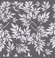 seamless branch pattern vector image vector image