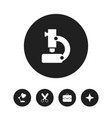 set of 5 editable school icons includes symbols vector image