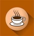 tea symbol vector image