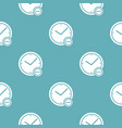 time minus pattern seamless blue vector image vector image