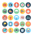 Travel Icons 1 vector image vector image