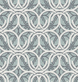 Vintage geometric seamless pattern vector image vector image