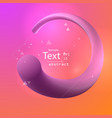 3d abstract line background banner vector image
