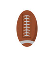 american football ball icon vector image vector image
