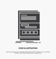 browser dynamic internet page responsive icon vector image vector image