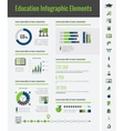Education Infographic Elements vector image vector image