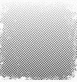 halftone dots monochrome texture background for vector image