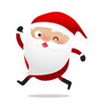 happy christmas character santa claus cartoon 020 vector image vector image