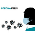 protection against viruses and bacteria vector image vector image