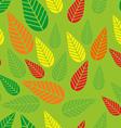 autumn leaf 8 vector image