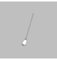 Broom computer symbol vector image