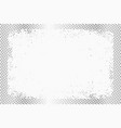halftone dots monochrome texture background vector image vector image