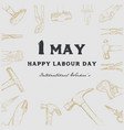 labor day background vector image vector image
