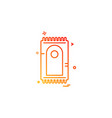 prayer mat icon design vector image