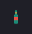 Bottle computer symbol vector image