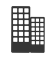 building architecture icon isolated vector image