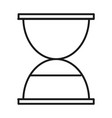 business hour clock time management developing vector image vector image