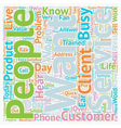 Customers Who Rave About You and Your Service text vector image vector image
