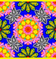 cute floral pattern in the small flower flowers vector image