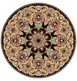 Ethnic tribal round ornament Colorful mandala for vector image
