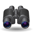 Icon for binoculars vector image vector image