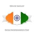 india independence day paper banner vector image vector image
