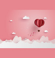 love and valentine day vector image