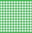 lumberjack plaid pattern in green and black vector image