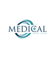 medical logo design symbol icon vector image vector image