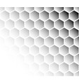 pattern with hexagons vector image vector image