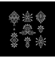 Set of Vintage Graphic Elements for Design vector image vector image